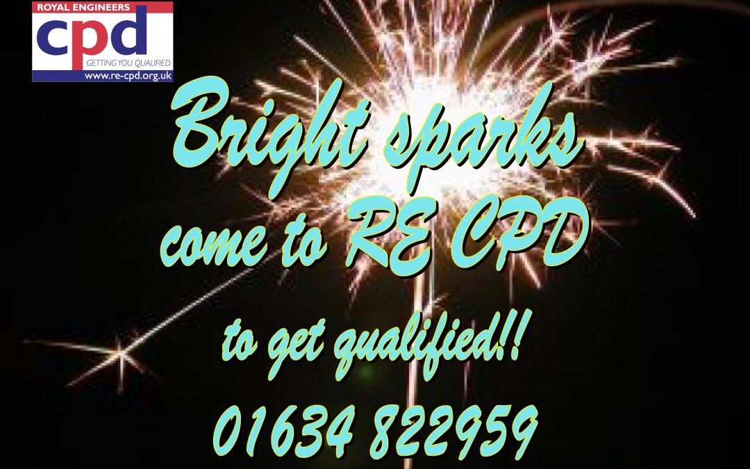 Bright Sparks Come To Re-CPD