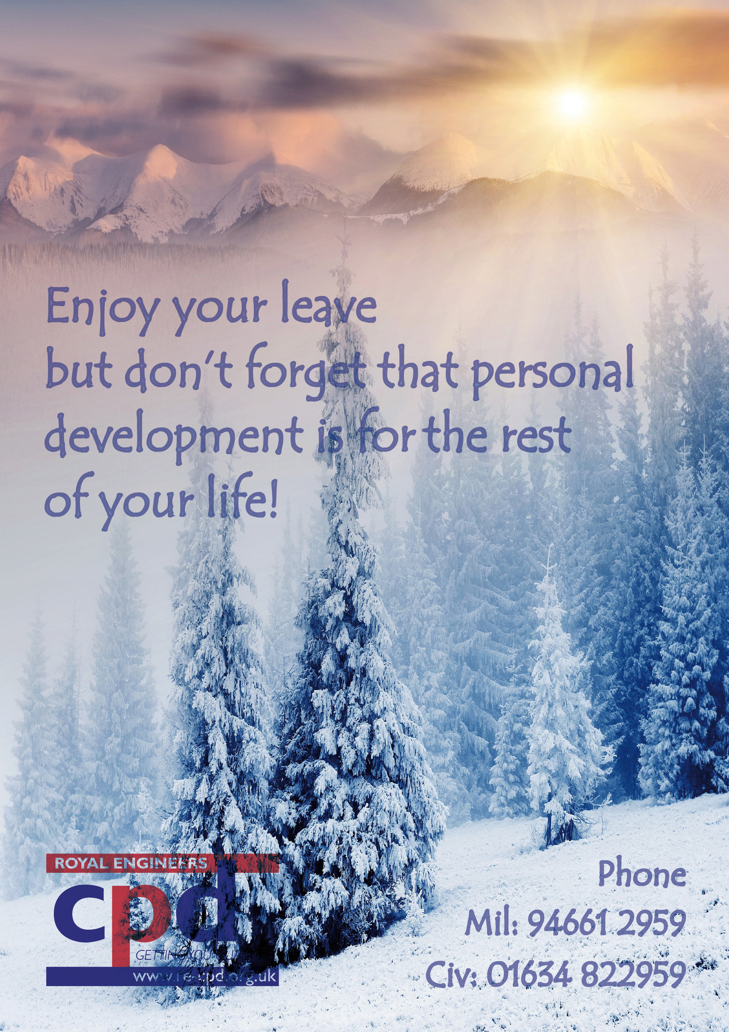 Enjoy Your Leave 3