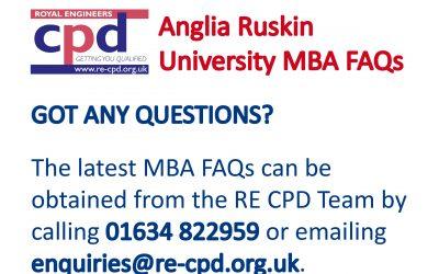 Anglia Ruskin University MBA FAQs