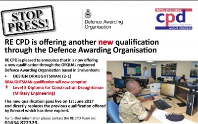 Another new Defence Awarding Organisation qualification!