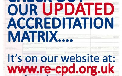 Check Out Our Updated Accreditation Matrix….